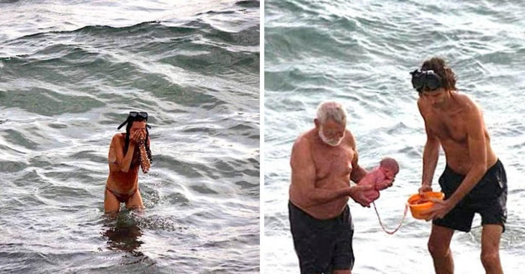 Meerjungbaby: Mutter bringt Baby im Roten Meer zur Welt