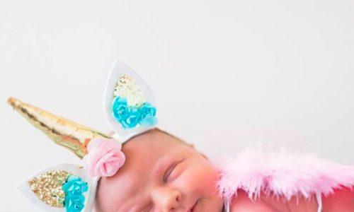 Diese Einhorn-Fotos von Neugeborenen sind der Hammer