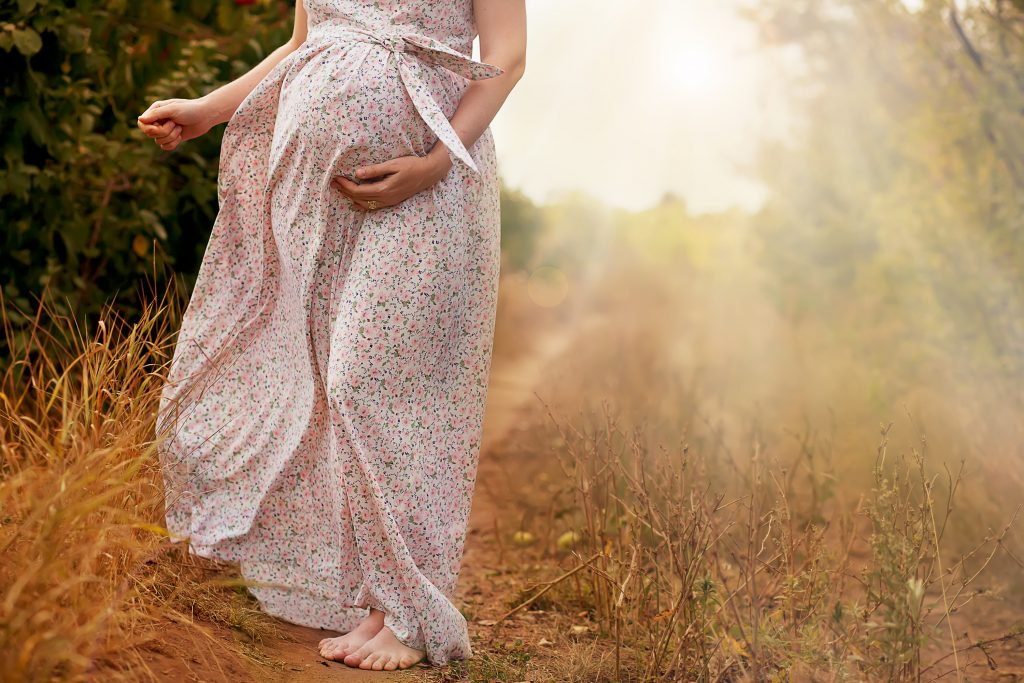 Sommerkleider für werdende Mütter