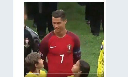 Das war der wohl süßeste Moment der Fußball-WM