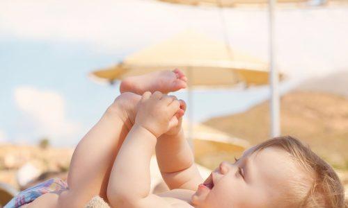 Erster Sommer mit Baby: Worauf du achten solltest
