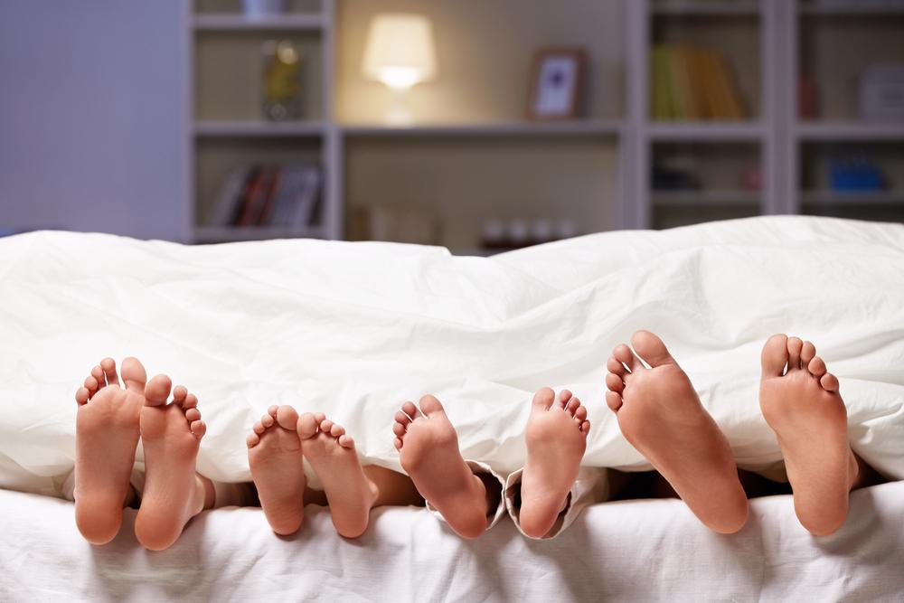 Wenn das Kind nicht im eigenen Bett schlafen will