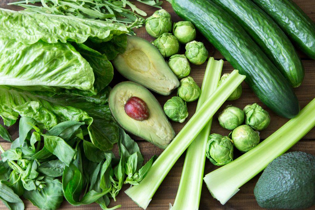 Leckeres Grünzeug enthält eine Menge Folsäure und gehört in vermehrtem Maße auf den Speiseplan jeder Schwangeren.