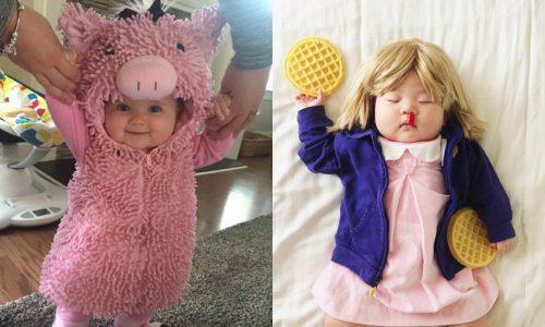 Die lustigsten Faschingskostüme für Babies