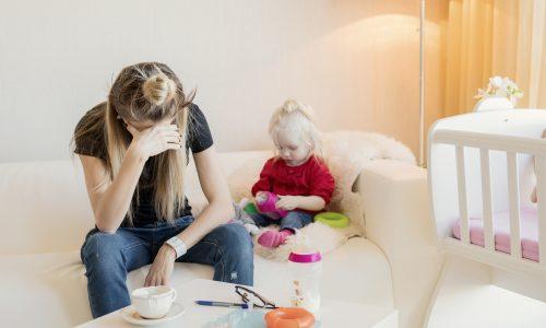Die mentale Last der modernen Mutter