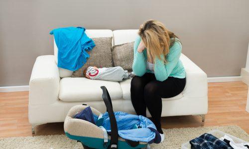 5 Anzeichen dafür, dass es mehr als nur der Baby Blues ist