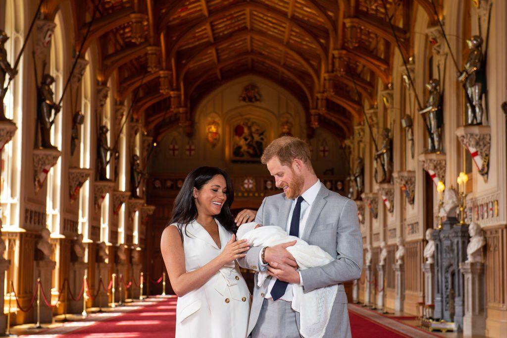 Meghan & Harry posten süßes Foto von Baby Archie zum Muttertag