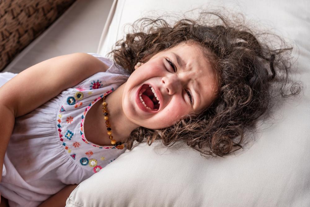 Wie man sein Baby durch die ersten Wutanfälle begleiten kann