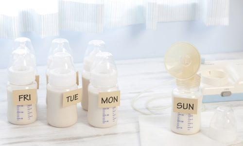 Muttermilch einfrieren: So geht's