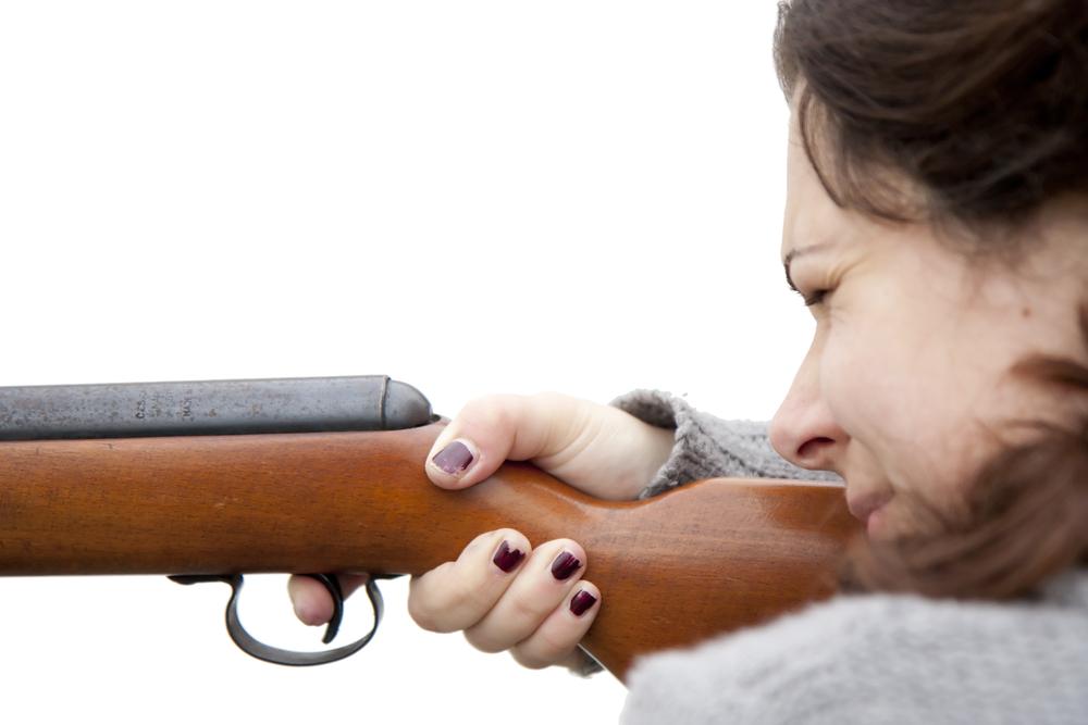 Hochschwangere Frau erschießt Einbrecher