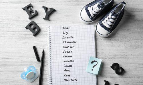 Das waren die beliebtesten Babynamen in deinem Geburtsjahr