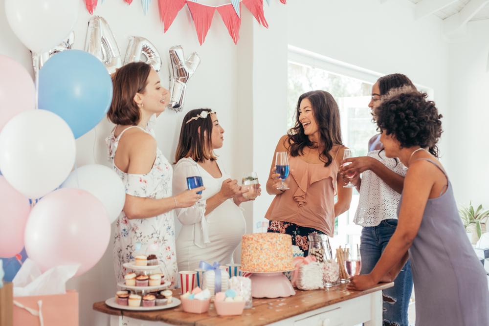 Die schönsten Ideen für deine Babyparty, abseits von (un)lustigen Partyspielen