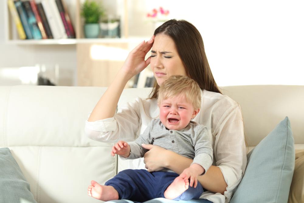 Wenn man sein eigenes Baby nicht leiden kann