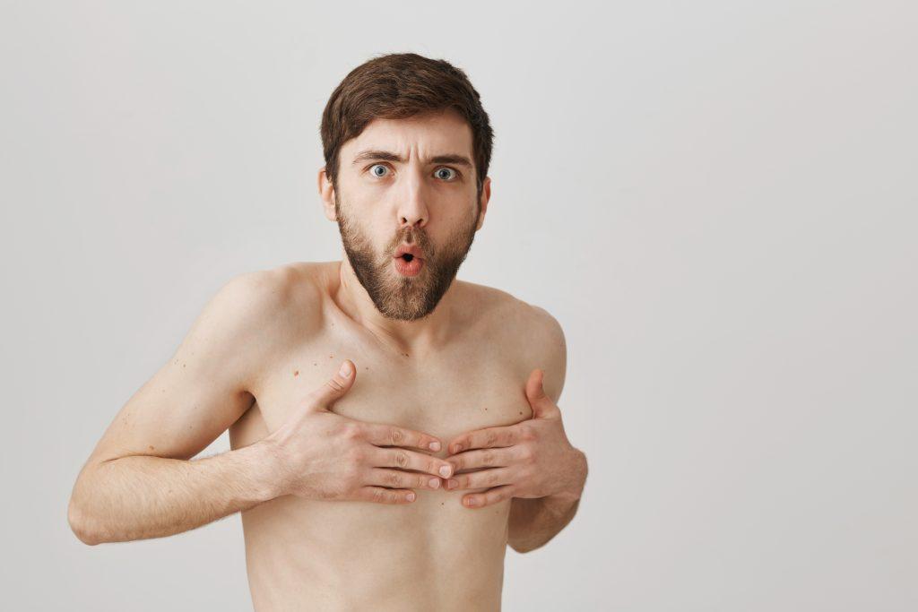 Welche Funktion haben eigentlich die Brustwarzen von Männern?